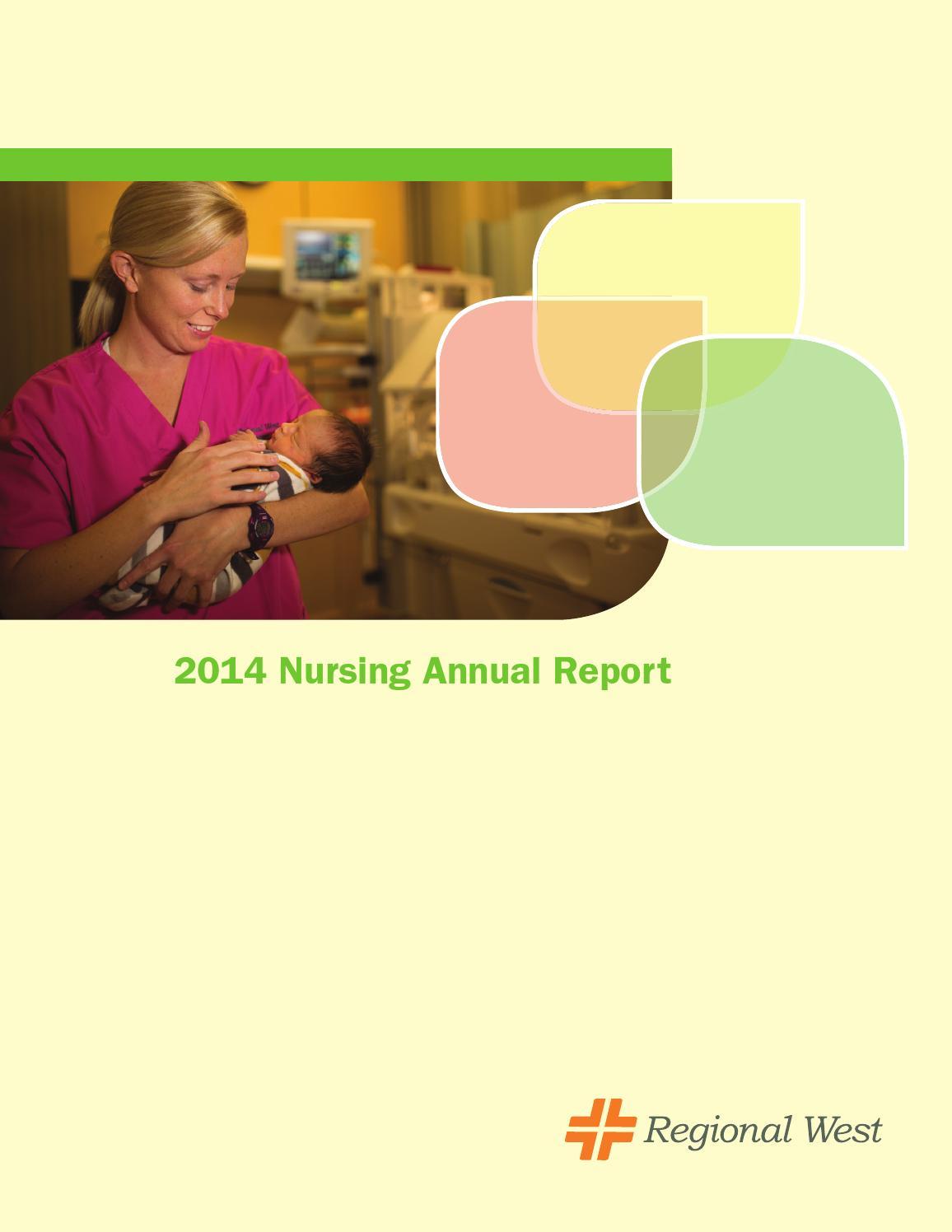 Nursing Annual Report 2014