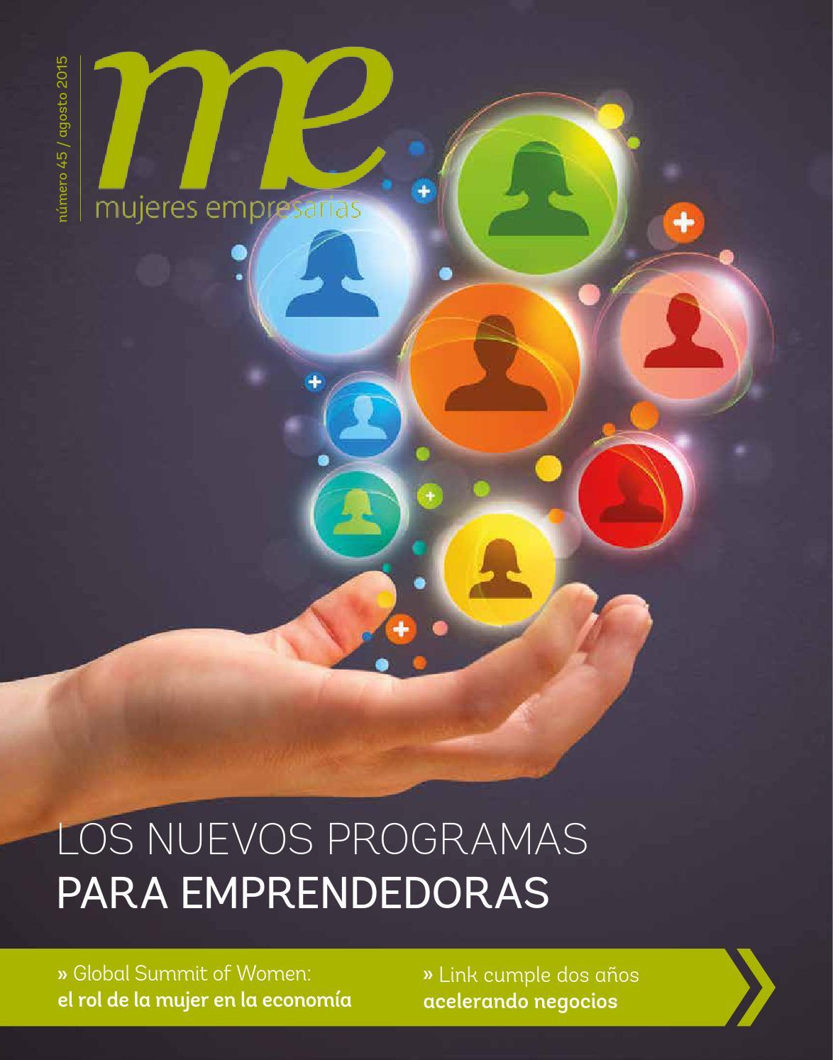 Revista Me Edición Agosto By Mujeres Empresarias Issuu
