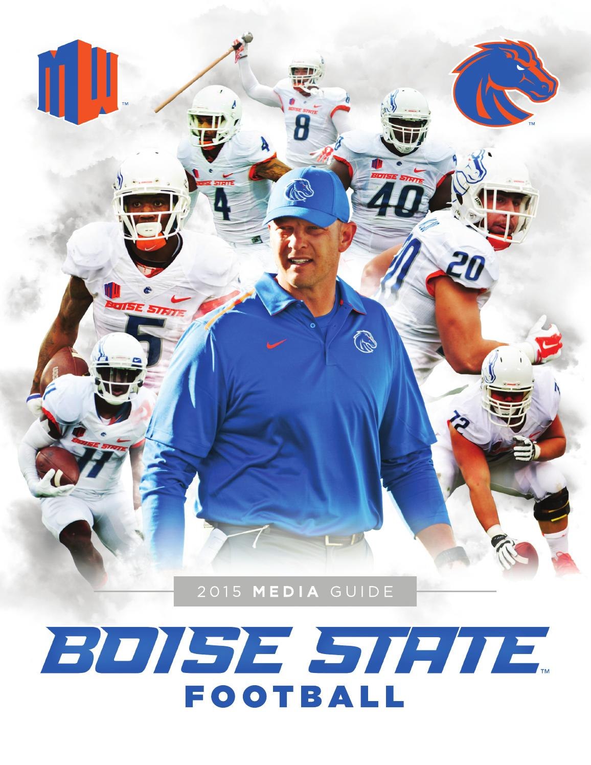 2015 Boise State Football Media Guide by Boise State University ...