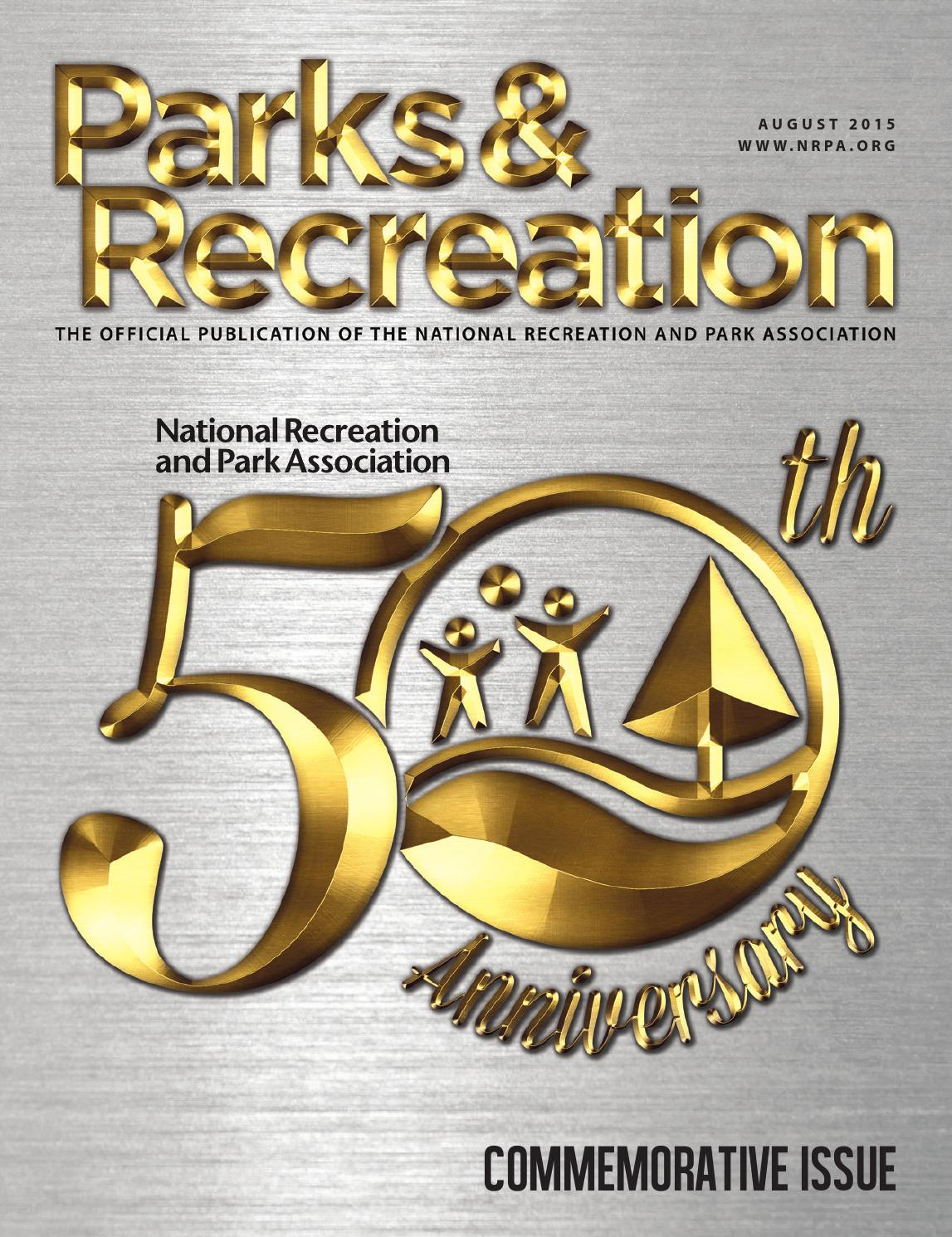 Parks & Recreation - August 2015 by Creative By Design - issuu