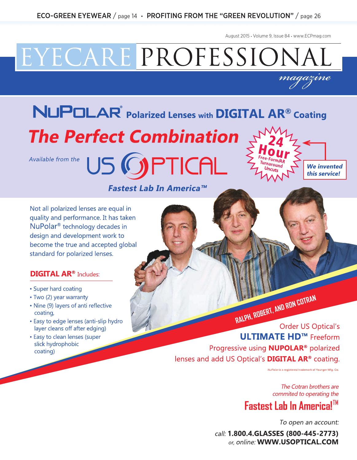201261c713f Eye Care Professional Magazine - August 2015 Issue by ECP Magazine - issuu