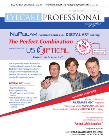 f65ca28549 Eye Care Professional Magazine - August 2015 Issue by ECP Magazine ...