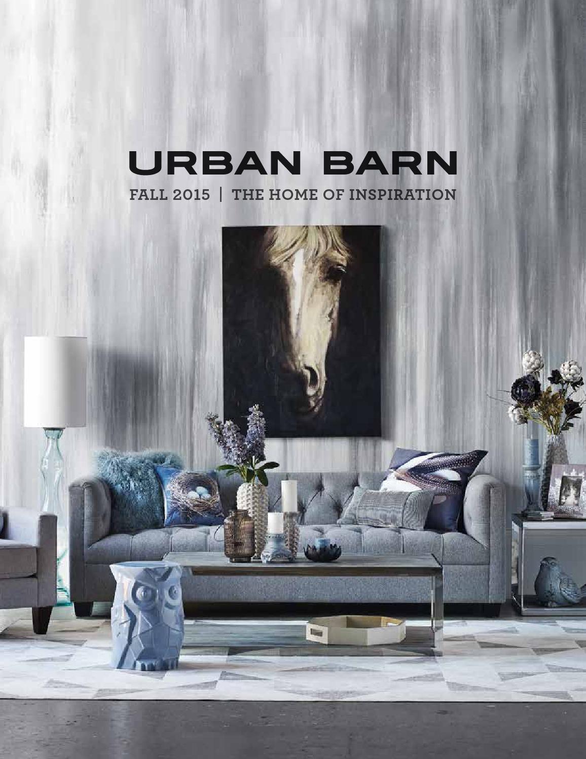 Fall 2015 Catalogue By Urban Barn