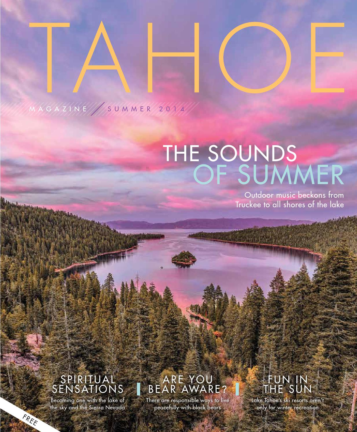 aee3be0b7fb12f Tahoe Magazine    Summer 2014 by Carly Arnold - issuu
