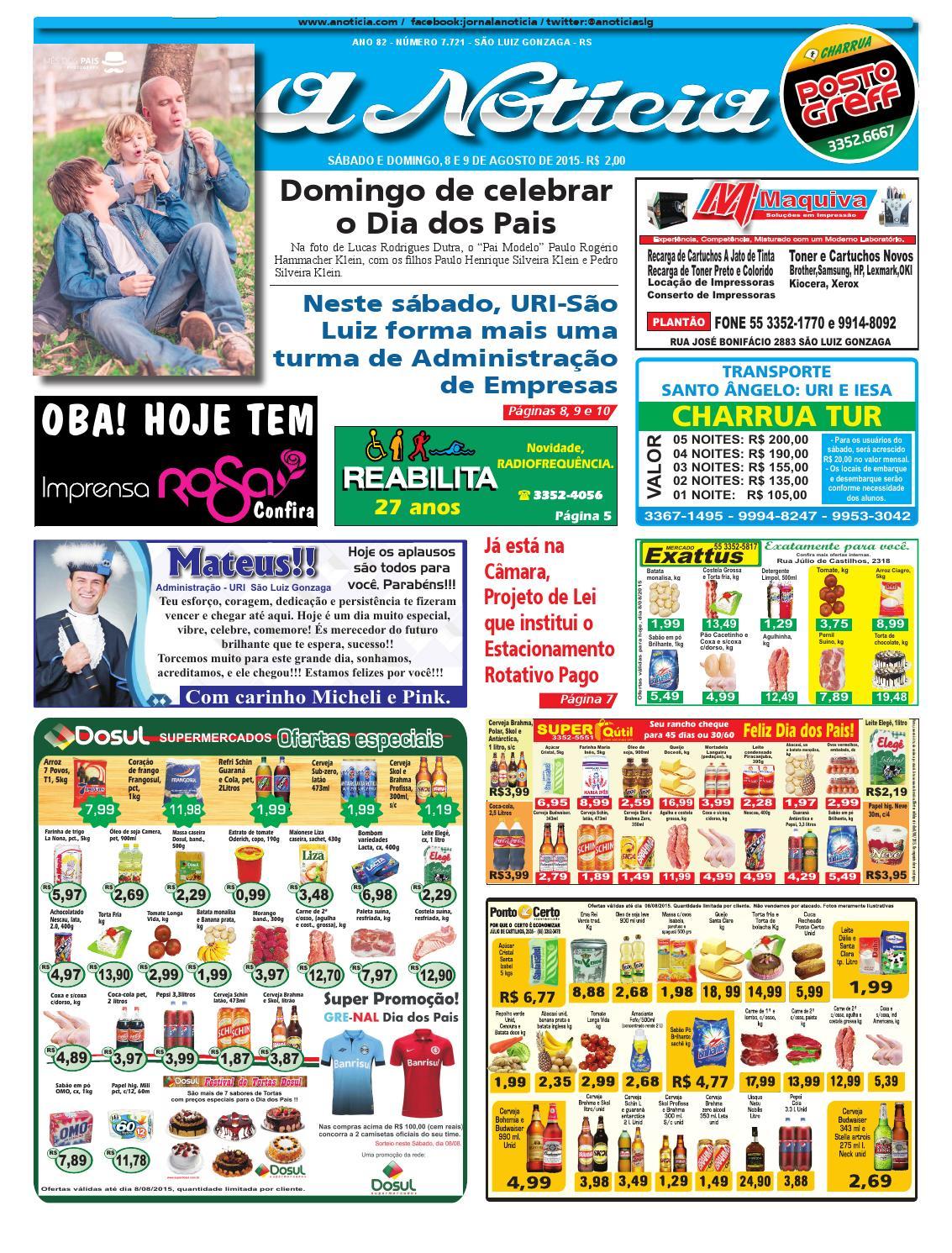 Edição de 8 e 9 de agosto de 2015 by Jornal A Notícia - issuu e8f9e6a1b18