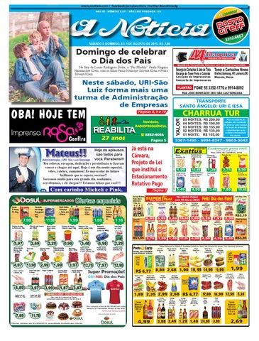 e1021175a7 Edição de 8 e 9 de agosto de 2015 by Jornal A Notícia - issuu