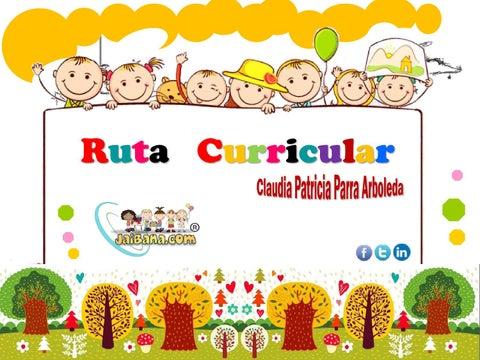 Cartilla Ruta Curricular Malla By Claudia Patricia Parra