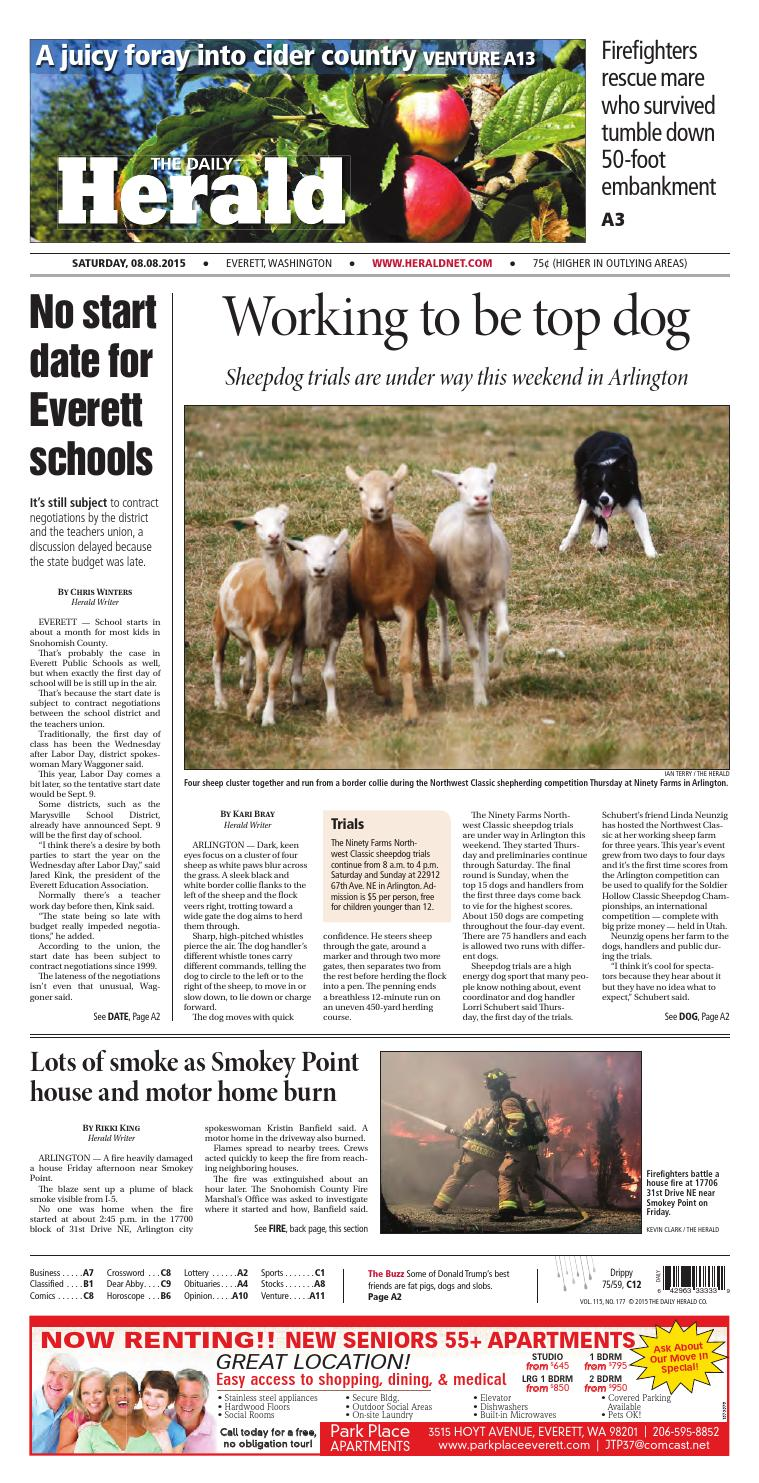 Everett Daily Herald August 08 2015 By Sound Publishing Issuu Haywire Pro T Wiring System
