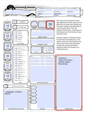 D&d 5e character creation instructions by The High Criticals - issuu