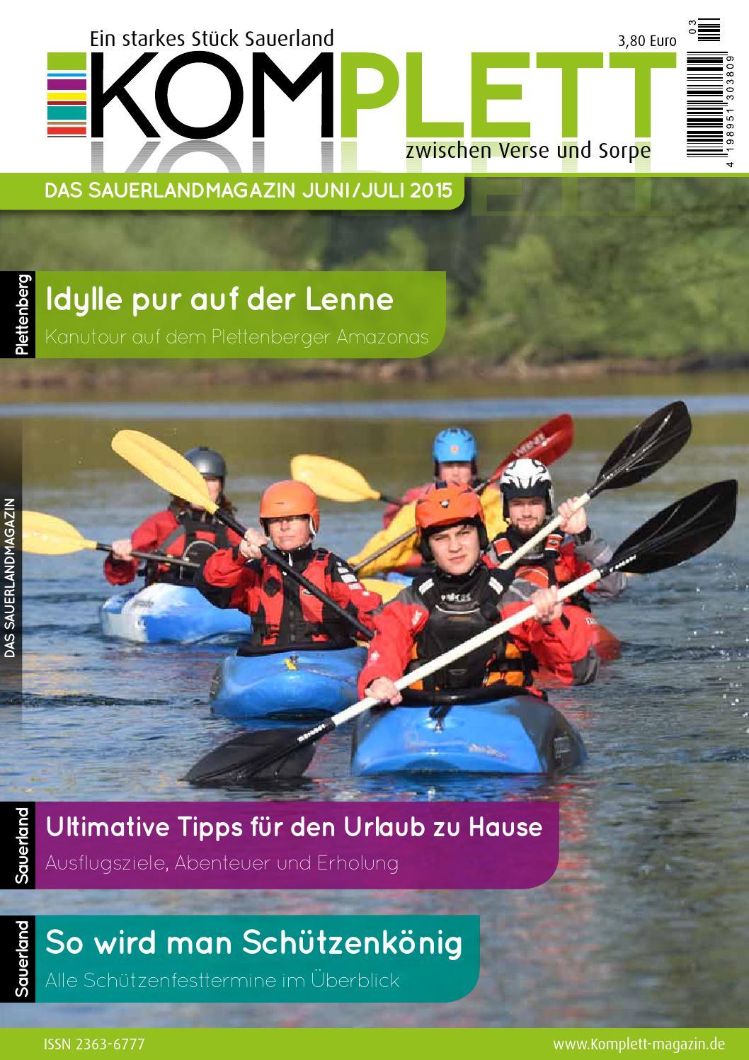 Komplett Das Sauerlandmagazin Juni/Juli 2015 by Komplett Das ...