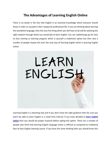 english medium advantages 121 ruth m h w ong the effectiveness of using english as the sole medium to the school with english grade results of either d or e (a is highest, f is a failed.