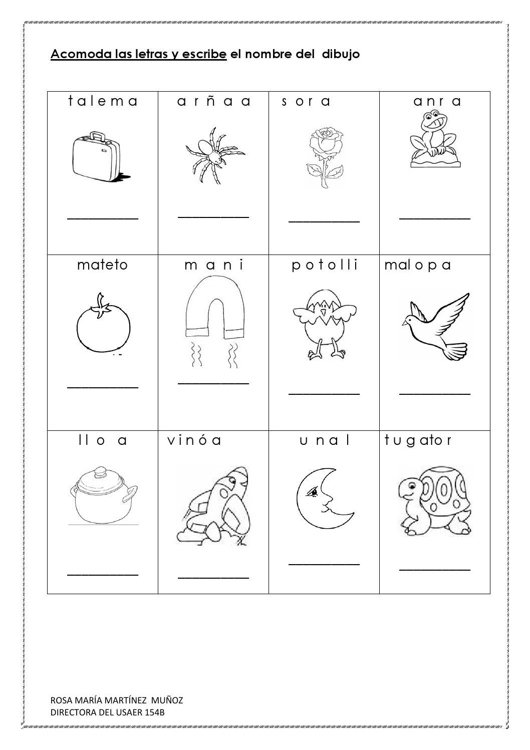 Cuadernillo De Lecto Escritura By Daena Issuu