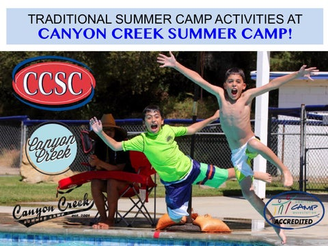 traditional activities canyon creek summer camp by canyon creek