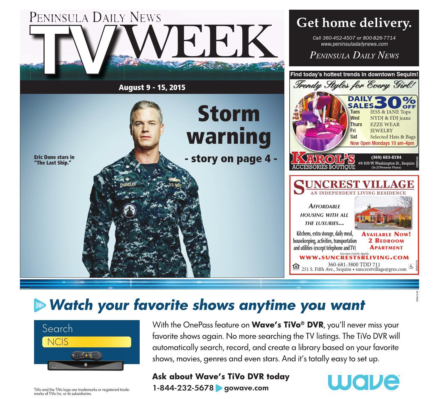 TV Week by Peninsula Daily News & Sequim Gazette - issuu