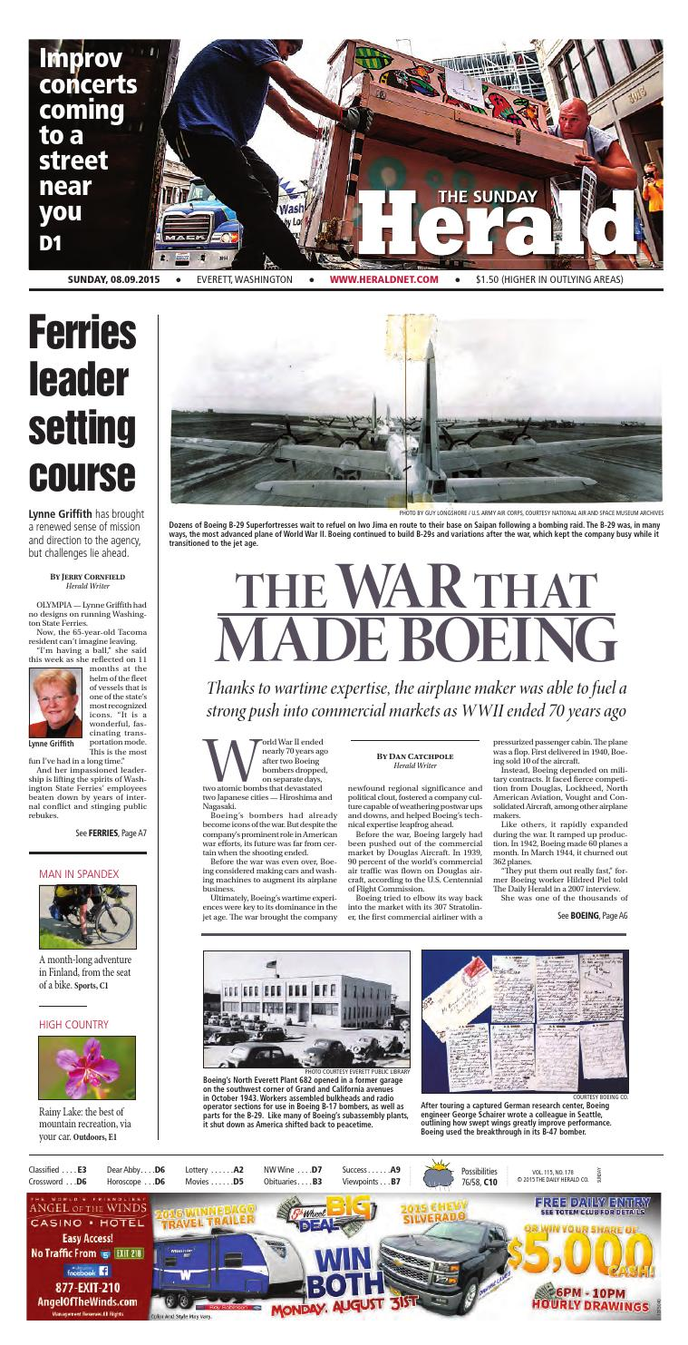 Everett Daily Herald, August 09, 2015 by Sound Publishing - issuu 2adeee16f451