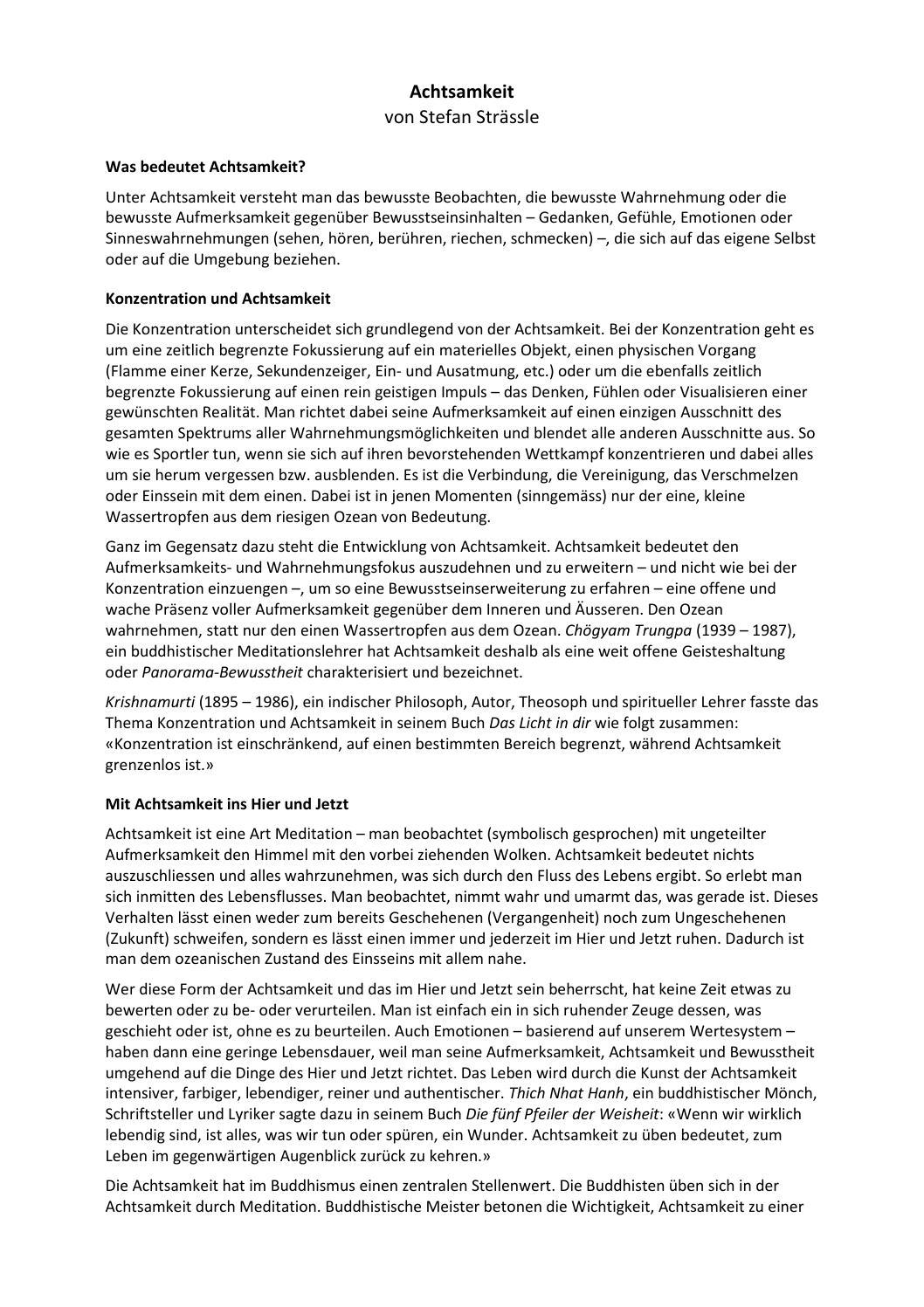 Stefan Strässle Artikel Zusammenfassung by Willy Rueegg - issuu