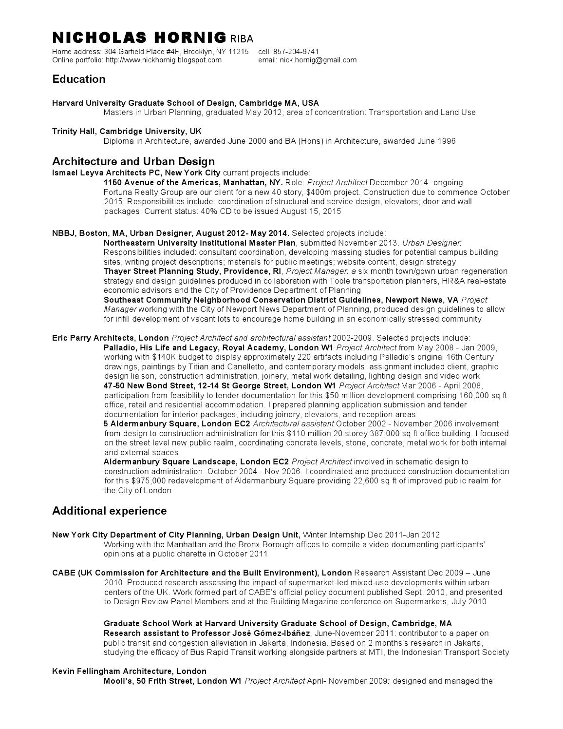 nicholas hornig s resume by nick hornig issuu