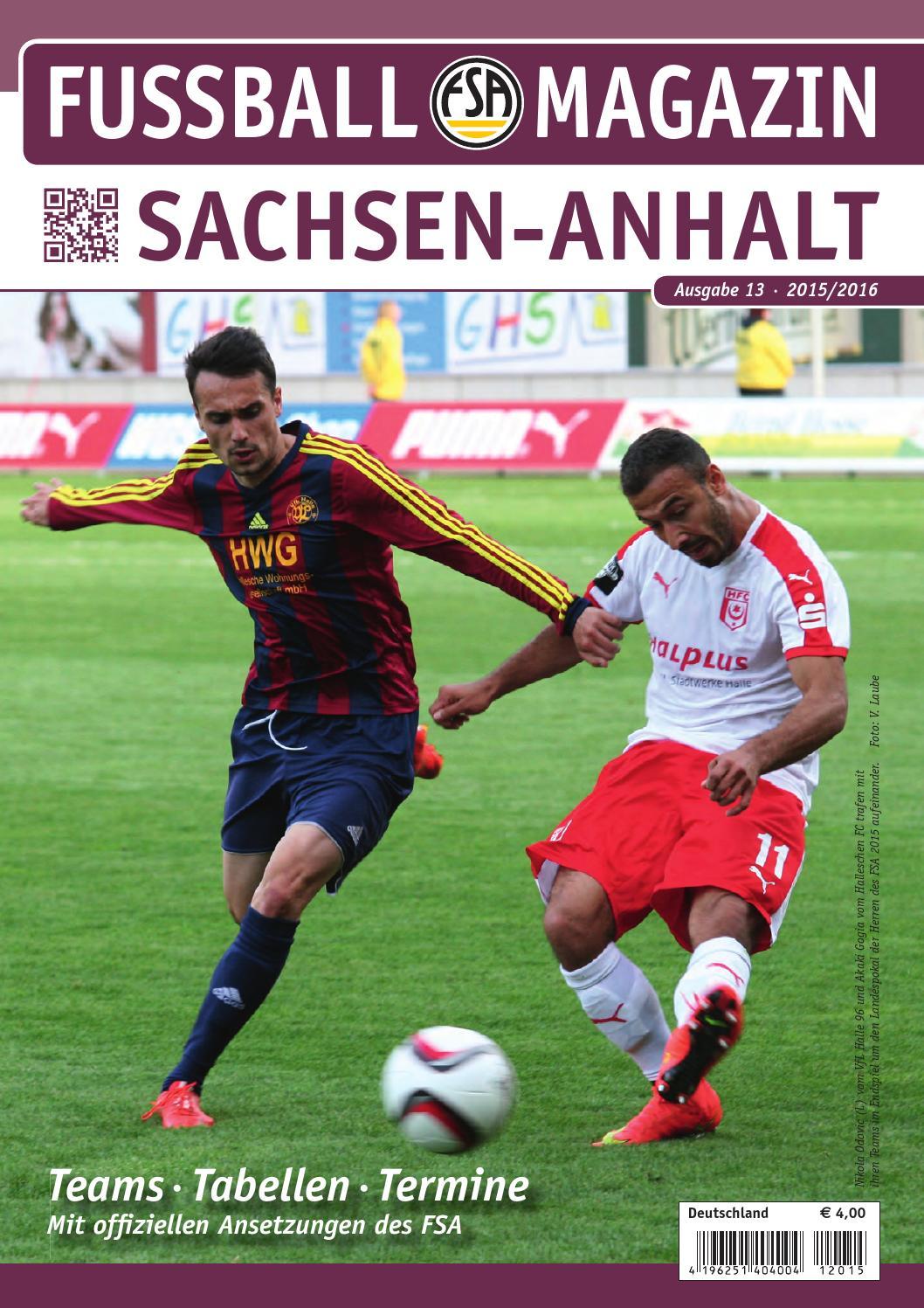 Landespokal Sachsen Anhalt
