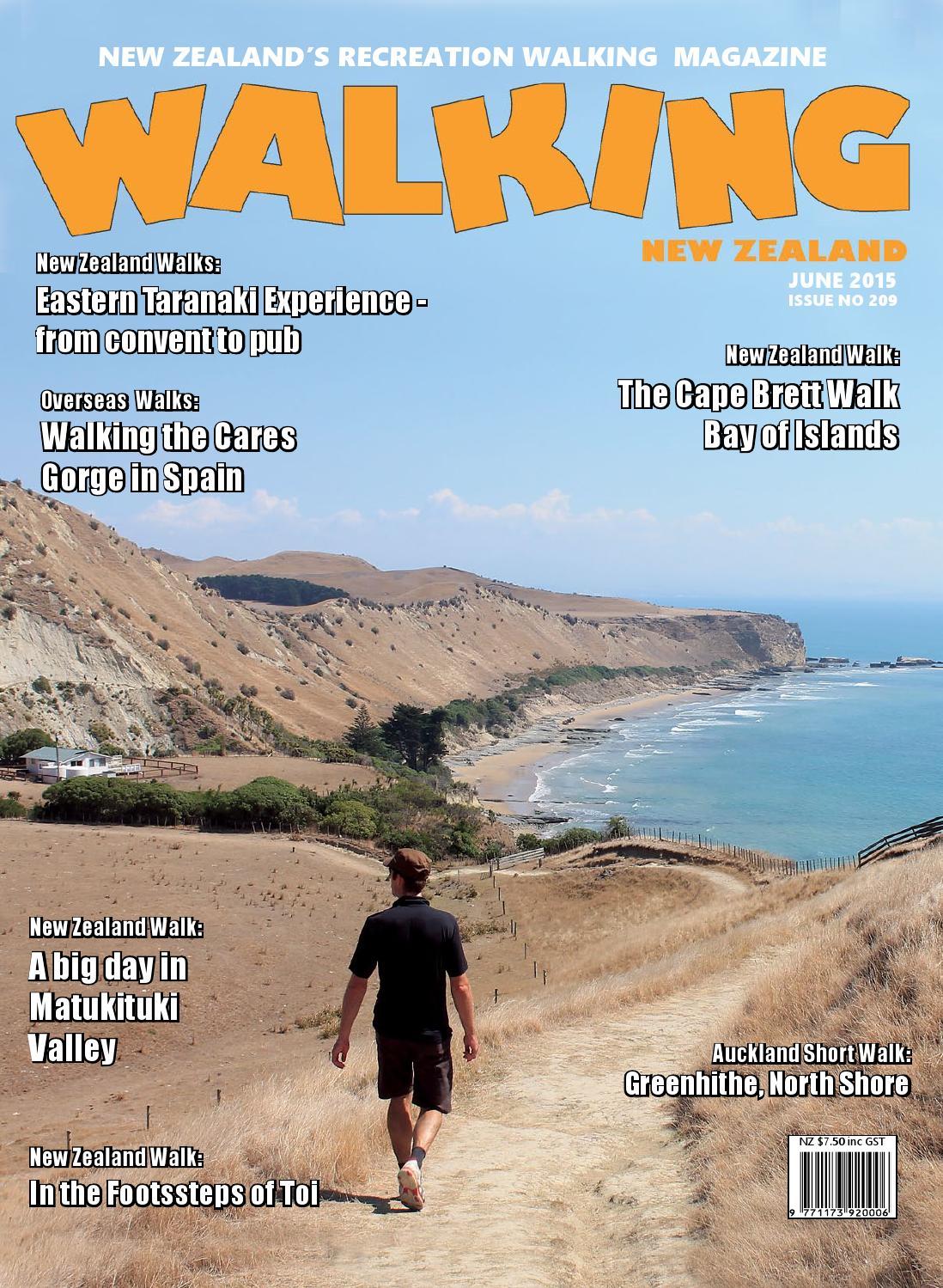 209 june 2015 ebook by Walking New Zealand Ltd - issuu