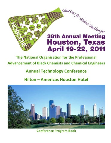 2011 Conference Program by NOBCChE Archives - issuu