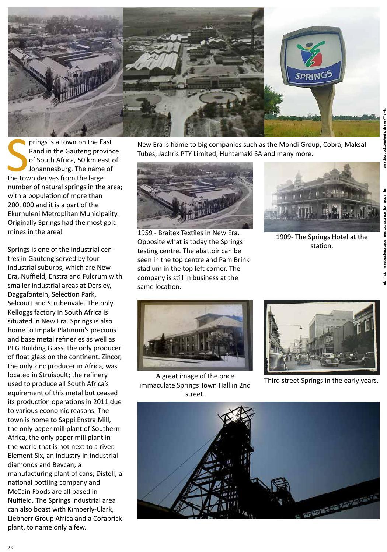 East Rand Industrial Magazine by Bacchus International - issuu