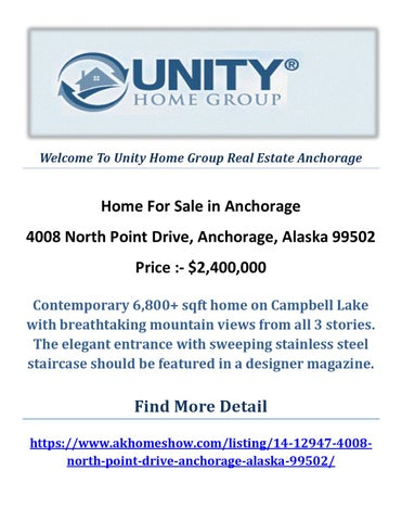 Unity Home Group Real Estate Anchorage - Issuu