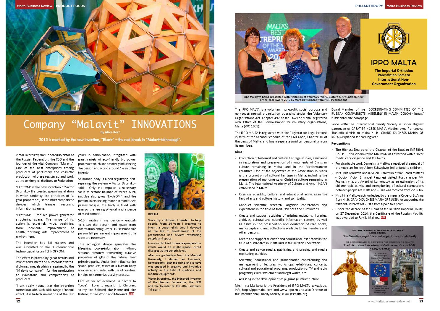 Malta Business Review Issue 12 By Adrian Friggieri Issuu