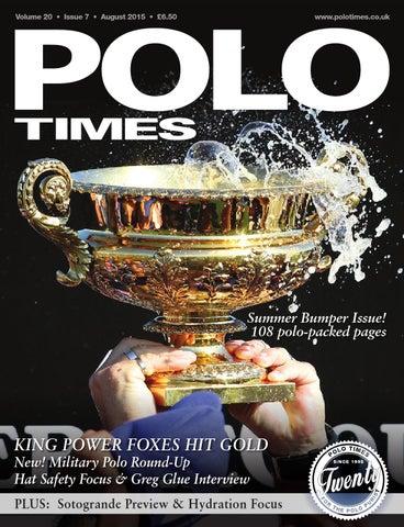 97e0d5bb926 Polo Times Aug 15 by Edit - issuu