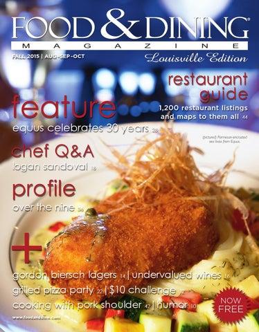 5caa7f441deb78 Fall 2015 (Vol. 49) by Food   Dining Magazine - issuu