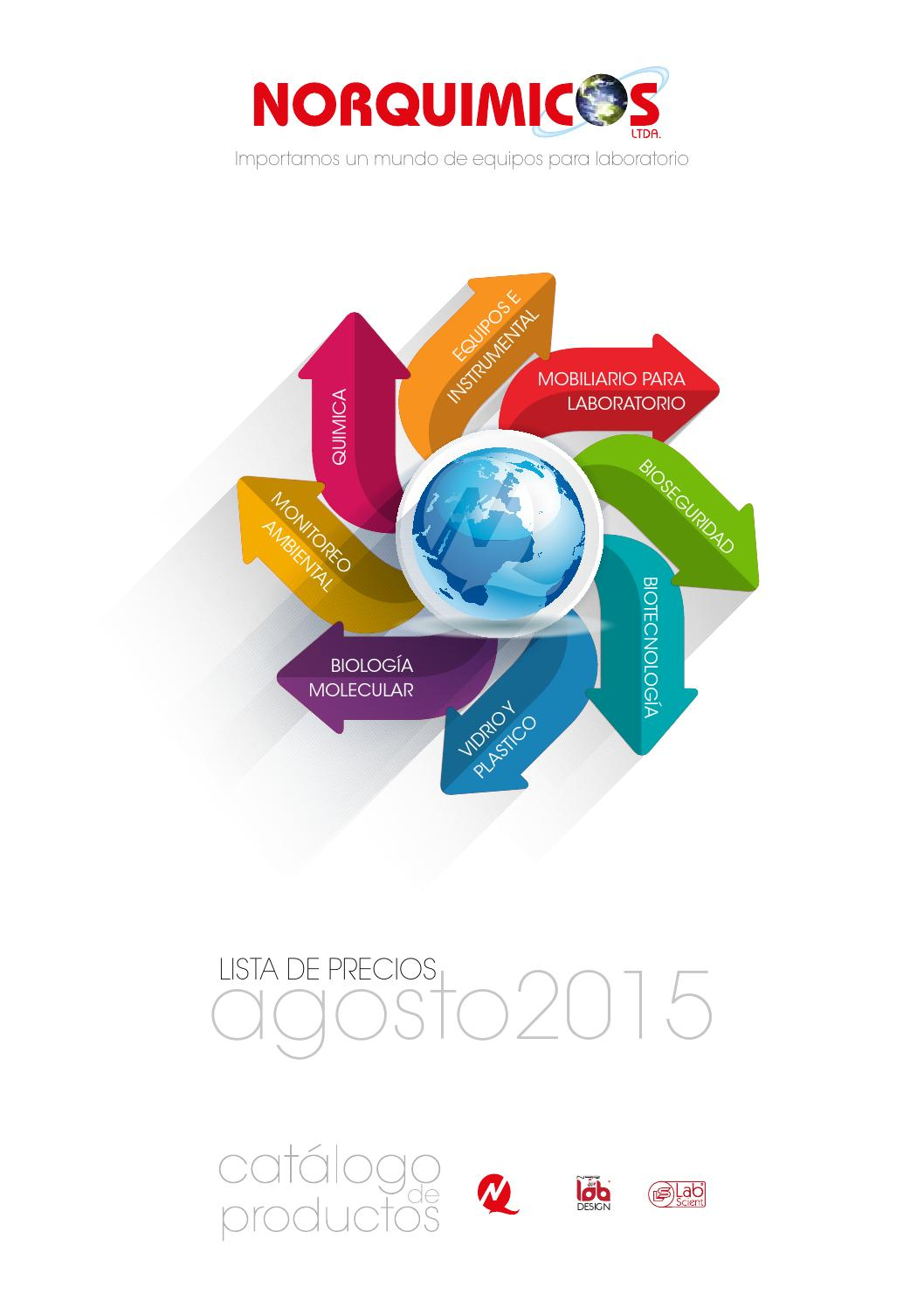 Catalogo agosto 2015 by norquimicos - issuu