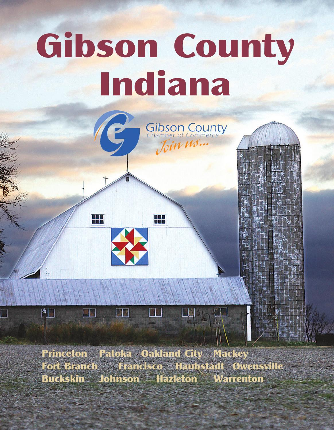 Indiana gibson county francisco - Gibson County Chamber Book 2013 By Princeton Daily Clarion Mt Carmel Register Warrick Standard Issuu