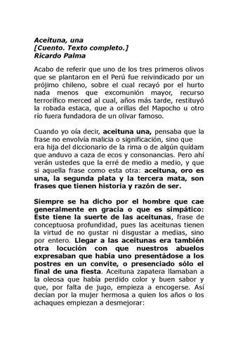 Aceituna Una By Naliana Issuu