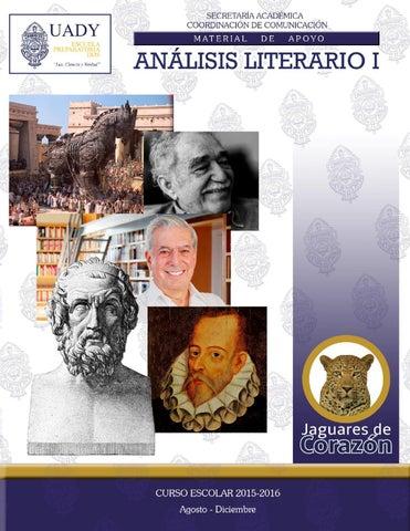 Análisis Literario Material De Apoyo By Escuela