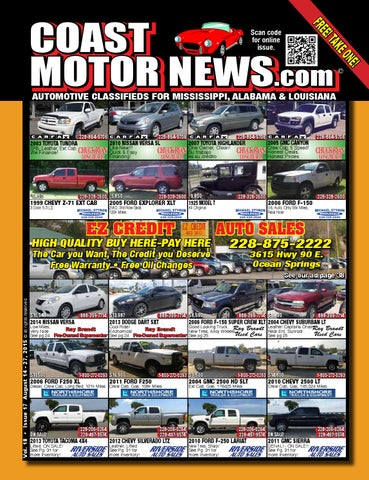 CMN v18 i17 by Coast Motor News - issuu
