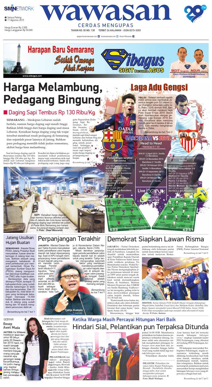 Wawasan 11 Agustus 2015 By Koran Pagi Issuu Kue Bakpia Kuliner Yulis Saekowati Akumandiri