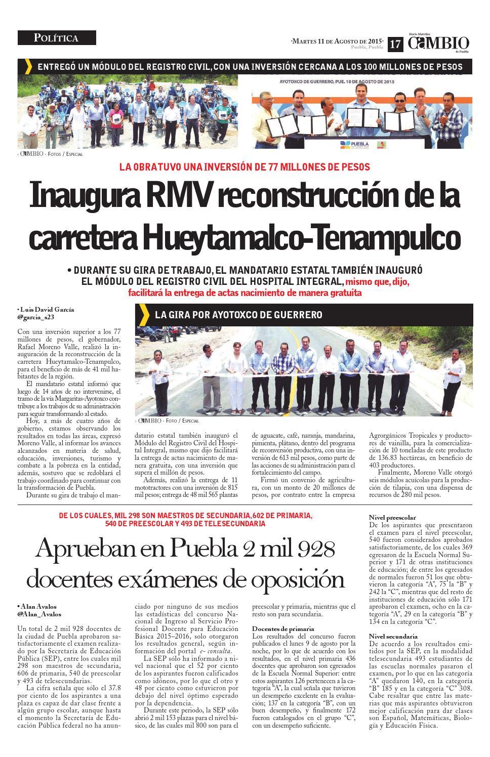Diario Cambio By Diario Cambio Issuu