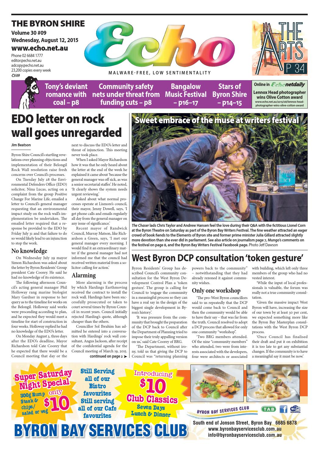 Byron Shire Echo Issue 3009 12 08 2015 By Publications Issuu Electronic Insect Repellent Circuit Free Circuits 8085