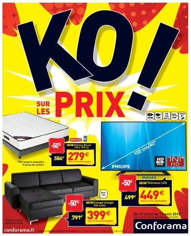 Conforama Catalogue 29juillet 18aout2015 By Promocatalogues