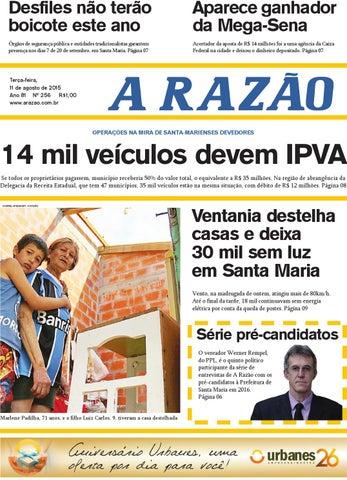 Jornal A Razão 11/08/2015 by Jornal A Razão - issuu
