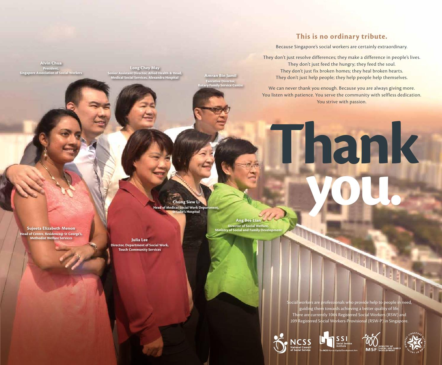 Ncss Social Workers Tribute Print Ad By Kelly Lau Issuu