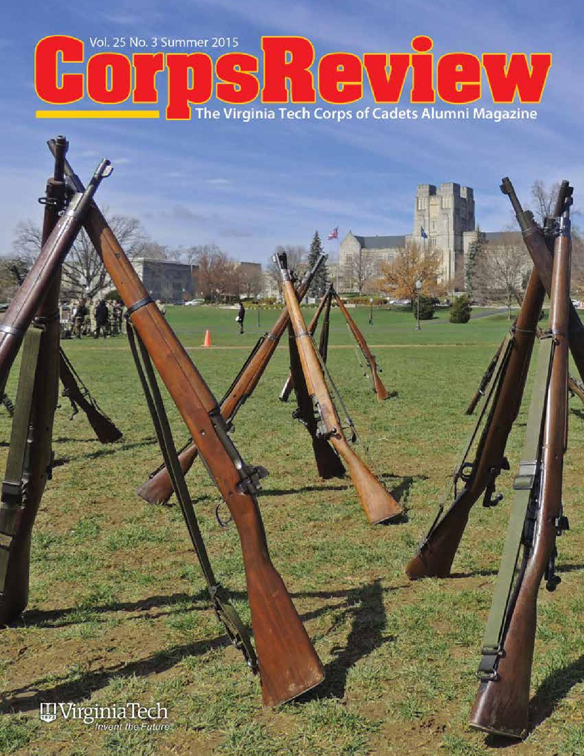 corps review spring 2016 by virginia tech corps of cadets alumni