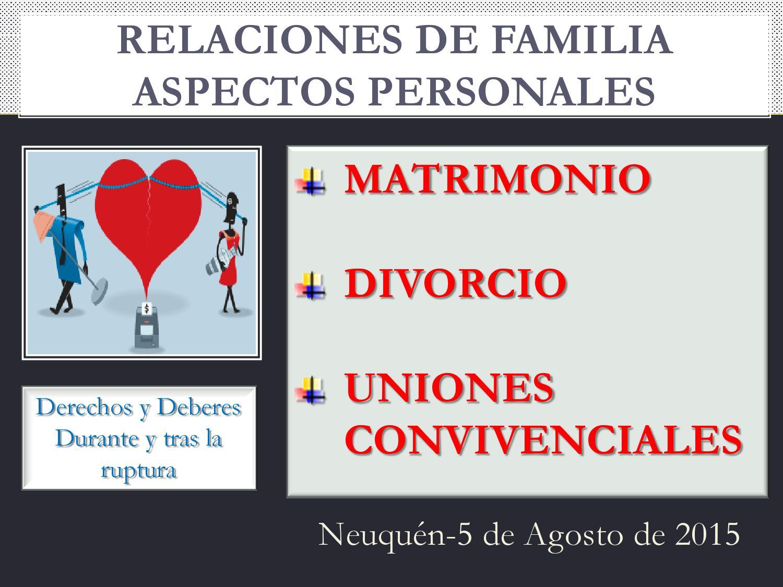 Matrimonio material clase IV by Escuela Judicial Neuquén - issuu