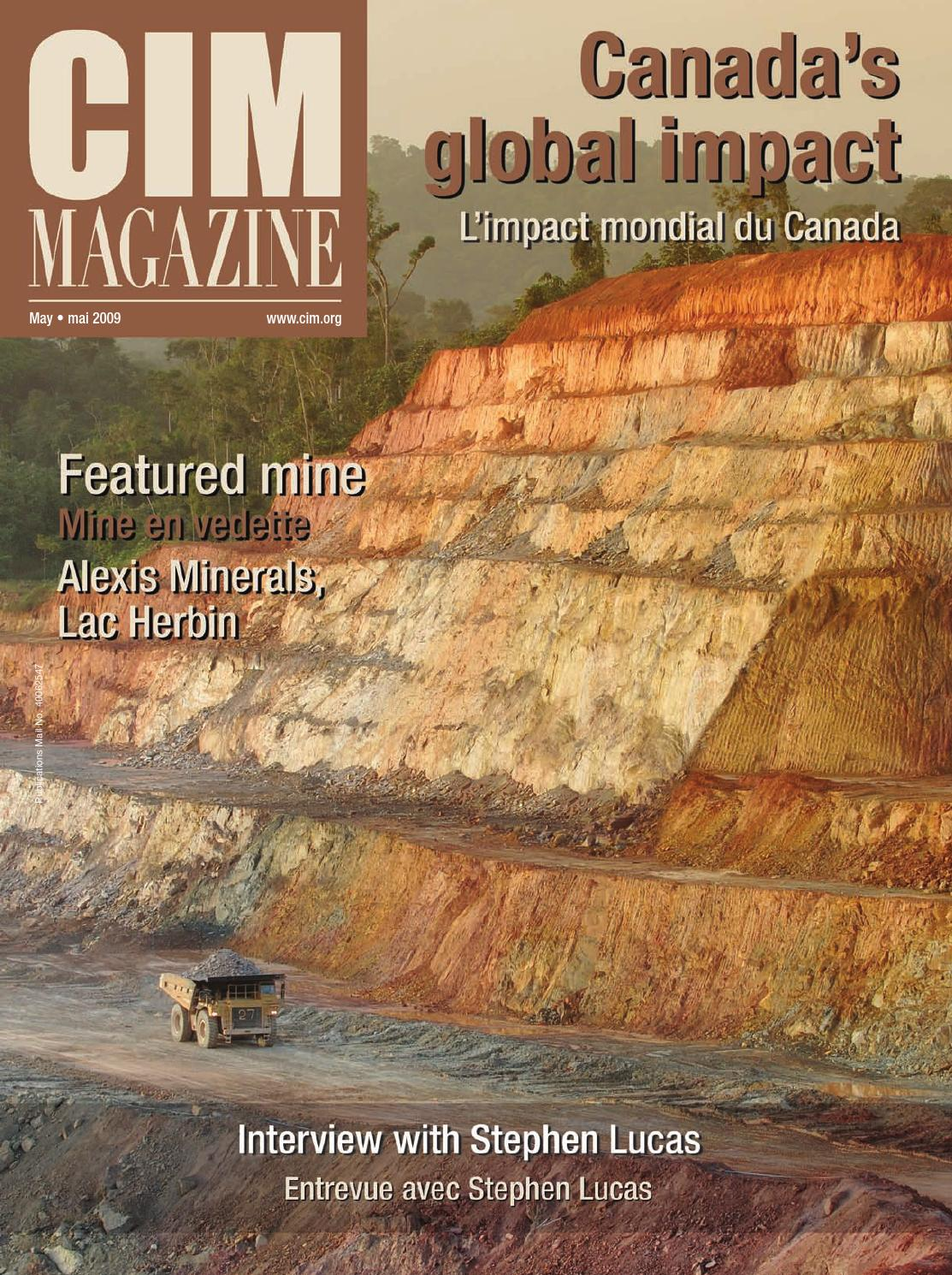 Cim Magazine May 2009 By Cim Icm Publications Issuu