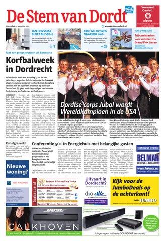 Dagblad de dordtenaar online dating
