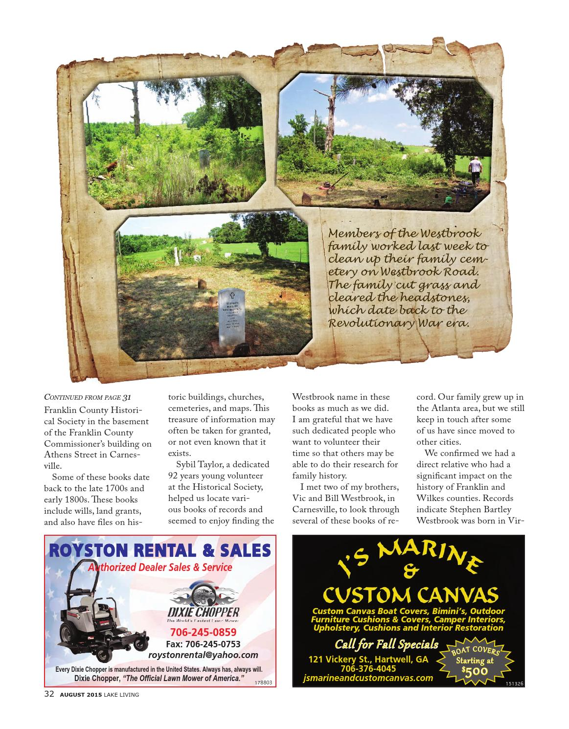 Lake Living Summer 2015 by Community Newspapers - issuu