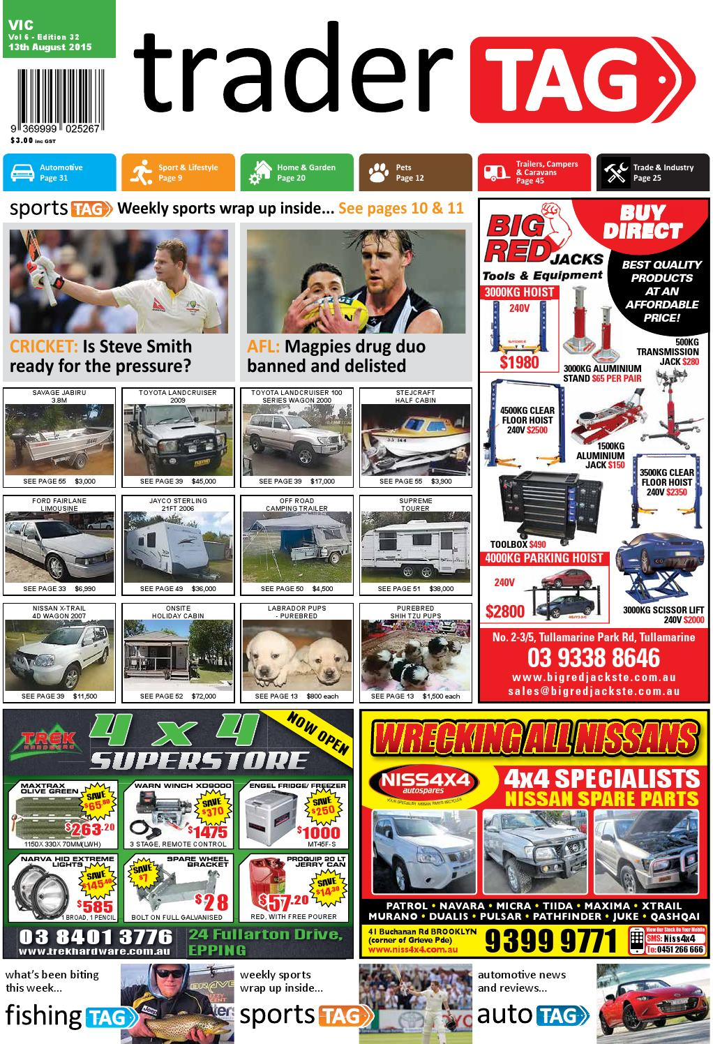 Tradertag Victoria Edition 32 2015 By Design Issuu Mitsubishi 1994 Pajero 28td Fuse Box Diagram