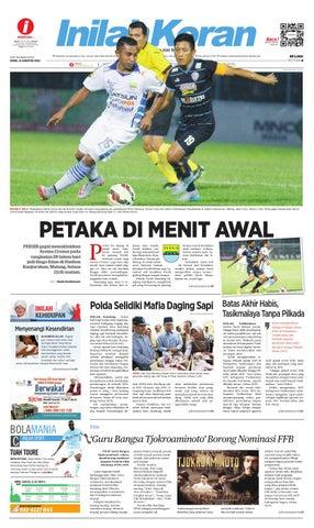 PETAKA DI MENIT AWAL by inilah koran - issuu 318fe4c8df