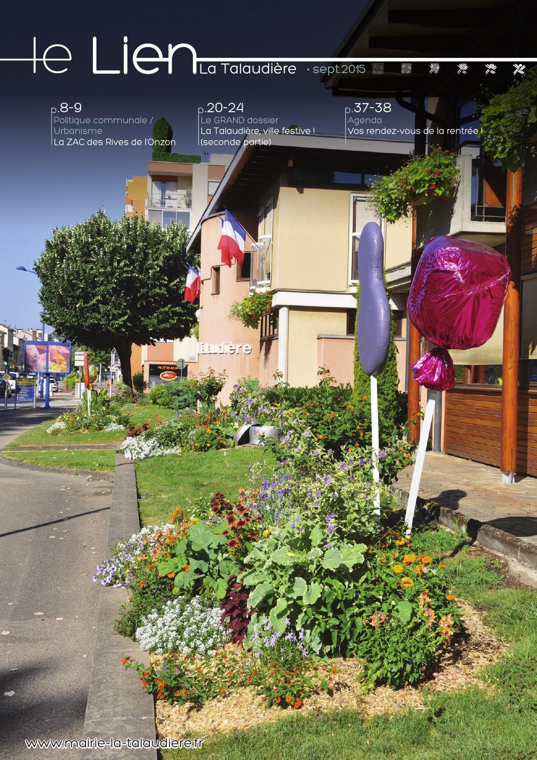 Lien septembre 2015 by mairie de la talaudi re issuu for Piscine la talaudiere