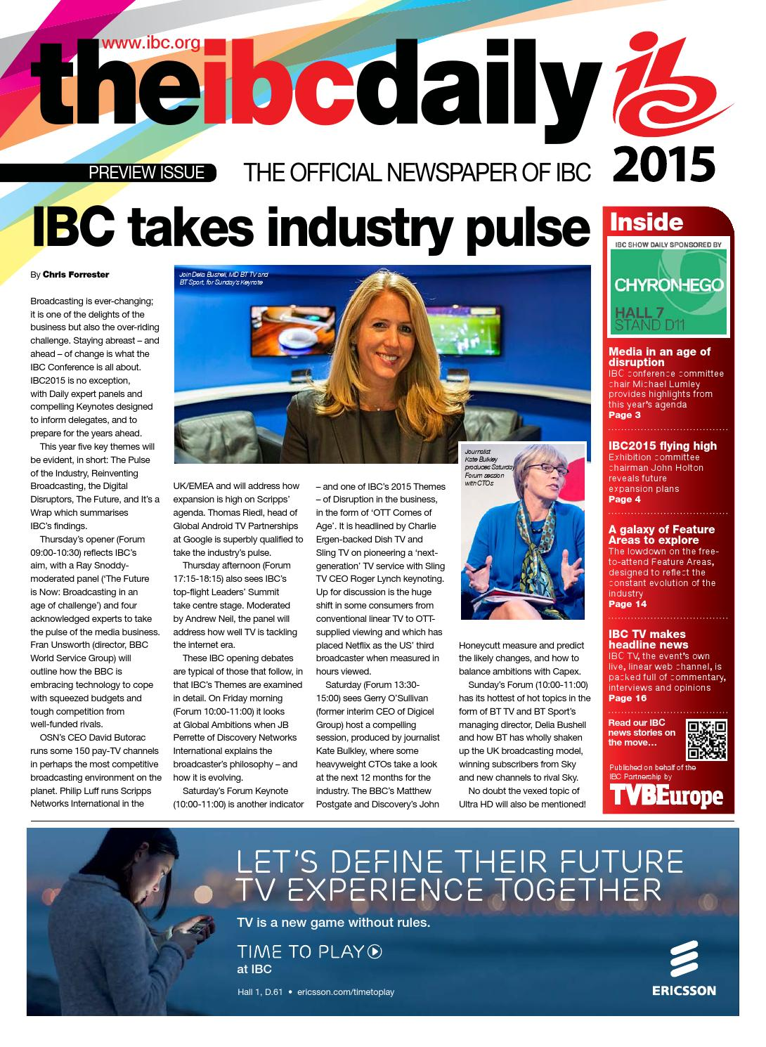 IBC2015 Preview issue by Future PLC - issuu