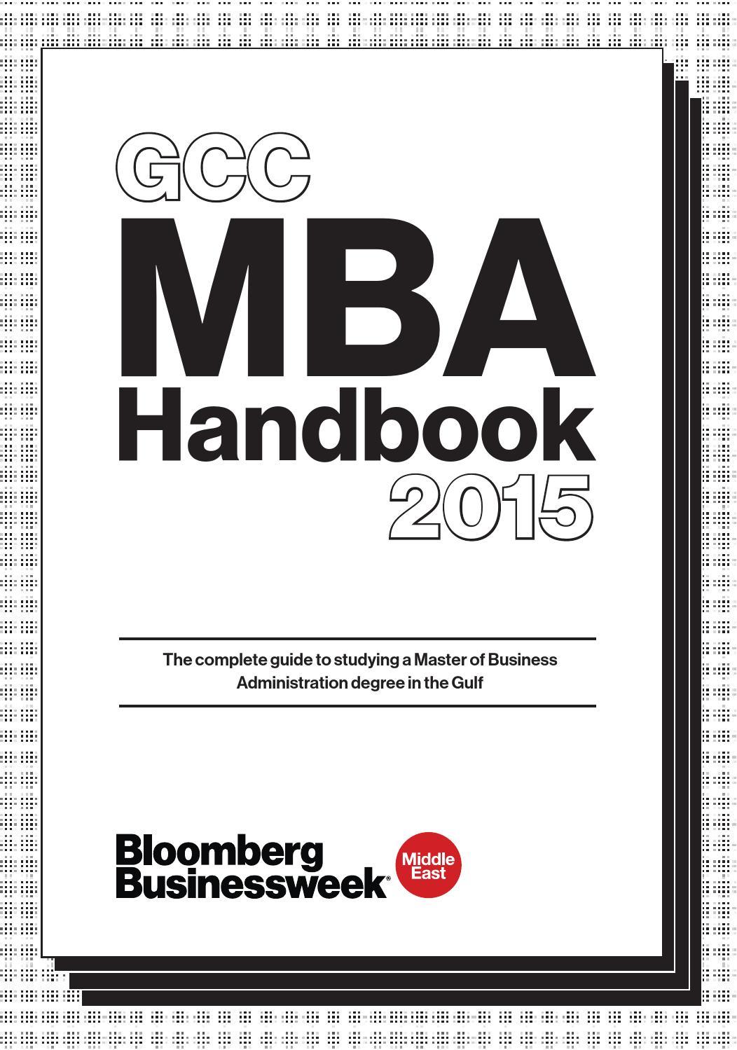 mba handbook